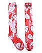 Red Lilo Knee High Socks - Lilo & Stitch