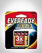 4 Pack Eveready AAA Batteries
