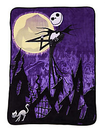 Nightmare Before Christmas Pumpkin King Fleece Blanket