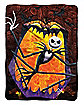 Swirls Jack Skellington Fleece Blanket - The Nightmare Before Christmas
