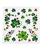 Shamrock St. Patrick's Day Body Jewelry Stickers