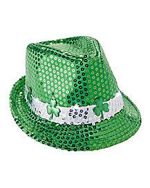 St. Patrick's Day Light Up Fedora Hat