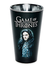 Jon Snow Game of Thrones Pint Glass - 16 oz.