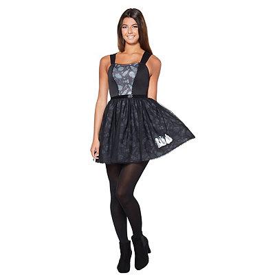 Vintage Retro Halloween Themed Clothing Attitude Hocus Pocus Dress $34.99 AT vintagedancer.com