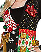 Hooded Ugly Christmas Sweater Vest