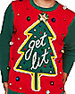 Light-Up Get Lit Ugly Christmas Sweater