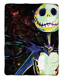 Jack Skellington Fleece Blanket - The Nightmare Before Christmas
