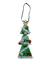 Light Up Christmas Tree Tie