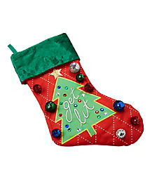 Get Lit Light-Up Christmas Stocking