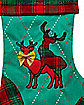 Humping Reindeer Christmas Stocking