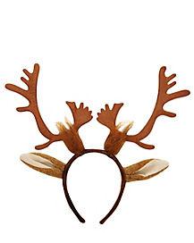 Reindeer Antler Headband