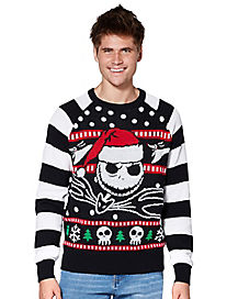 Jack Skellington The Nightmare Before Christmas Ugly Christmas Sweater