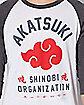 Raglan Naruto T Shirt