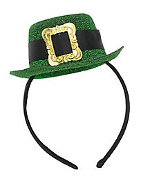 St. Patrick's Day Top Hat Headband