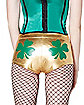 Gold Shamrock Booty Shorts