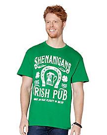 Shenanigans Irish Pub T Shirt