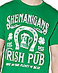 Shenanigans Irish Pub T Shirt