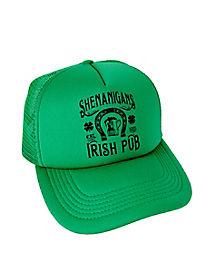 Shenanigans Irish Pub St. Patrick's Day Trucker Hat