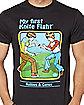 My First Knife Fight T Shirt - Steven Rhodes