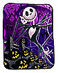 Jack Skellington Fleece Blanket - The Nightmare Before Christmas