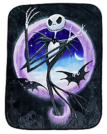 Mad Jack Skellington Fleece Blanket - The Nightmare Before Christmas