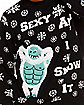 Light-Up Sexy And I Snow It Ugly Christmas Sweater
