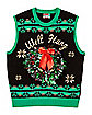 Light-Up Well Hung Ugly Christmas Sweater Vest