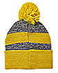 Pom Hufflepuff Beanie Hat - Harry Potter