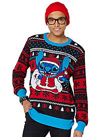Santa Stitch Ugly Christmas Sweater - Disney