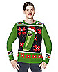 Light-Up Pickle Rick Ugly Sweater - Rick and Morty