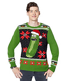Pickle Rick Light Up Ugly Sweater - Rick and Morty
