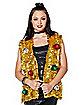 Goldtone Tinsel Vest