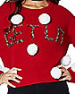 Pom Get Lit Ugly Christmas Sweater