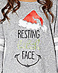 Resting Bitch Face Ugly Christmas Shirt