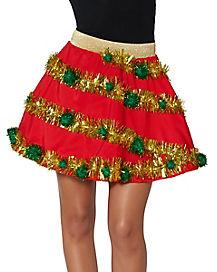 Light-Up Christmas Skirt