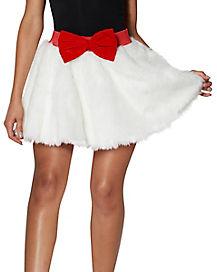 Light-Up Faux Fur Skirt