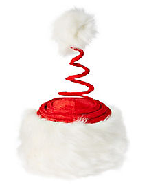 Springy Swirl Santa Hat