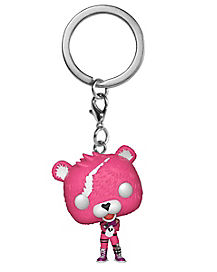 Cuddle Team Leader Funko Pop Keychain - Fortnite