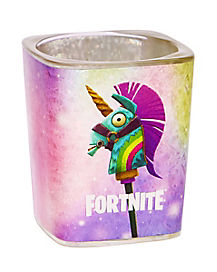 Square Rainbow Smash Shot Glass 2 oz. - Fortnite
