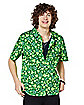 Fuckin' Lucky St. Patrick's Day Button Down Shirt