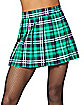 Women's Plaid St. Patrick's Day Kilt