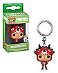 Tricera Ops Funko Pop Keychain - Fortnite