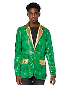 Shamrock Sequin Light-Up Jacket