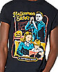 Halloween Safety T Shirt - Steven Rhodes