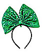 Light Up Sequin Bow Headband