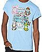 Adult Battle Bus T Shirt - Fortnite