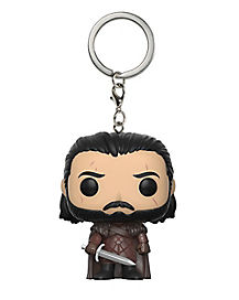 Jon Snow Funko Pop Keychain - Game of Thrones