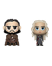 Jon Snow and Daenerys Funko Vynl. Figures 2 Pack - Game of Thrones