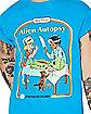 First Alien Autopsy T Shirt - Steven Rhodes