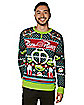 Alien Pizza Planet Ugly Christmas Sweater - Toy Story